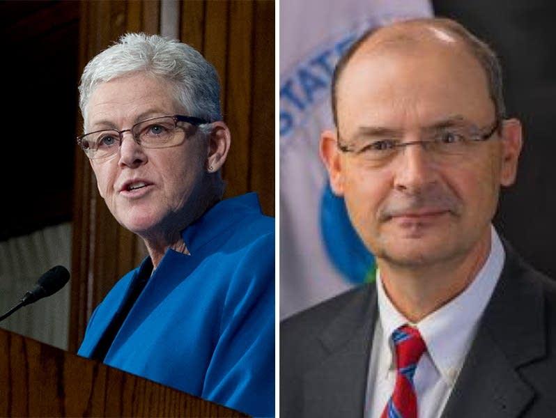 EPA's Gina McCarthy, Tom Burke