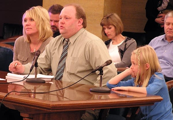 Brouse family testifying