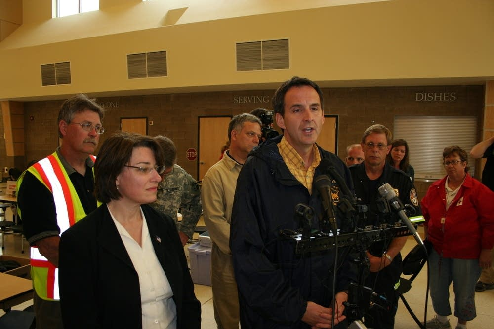 Gov. Pawlenty and Sen. Klobuchar