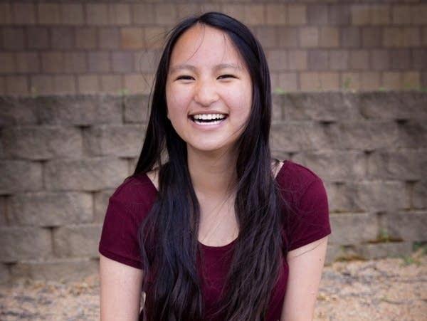 Amelia Yang at Northdale Middle School in June 2017.