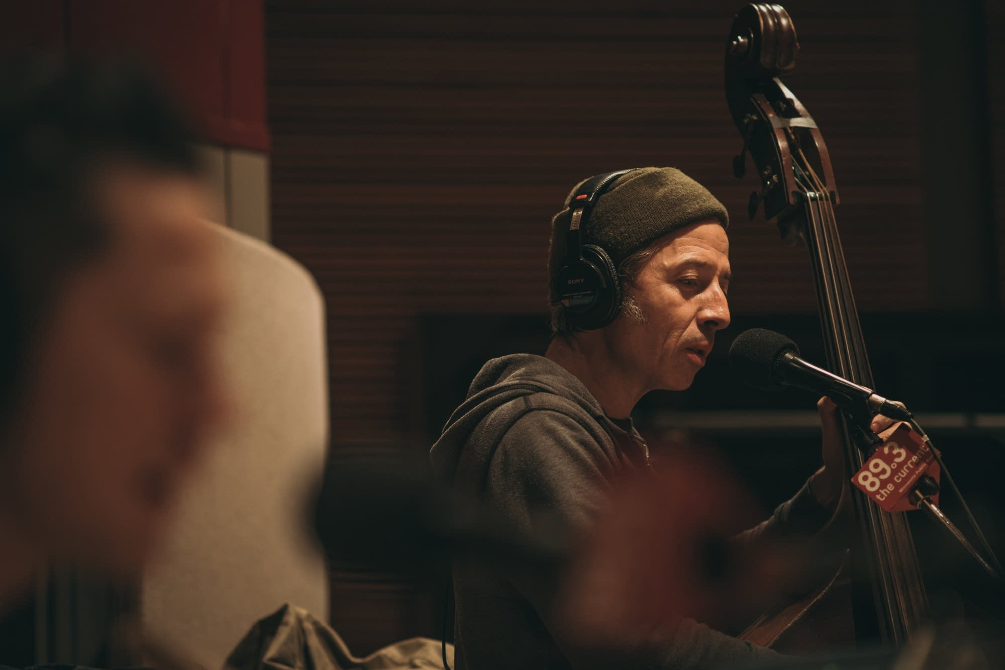 JD McPherson performs in The Current studio
