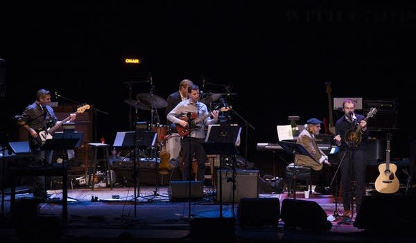 Chris Thile and The First Call Radio Players