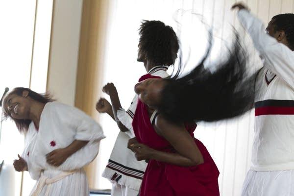 Oromo-American dance