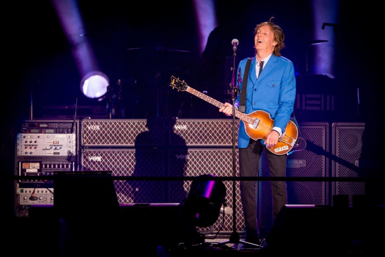 Today in music history happy birthday paul mccartney the current paul mccartney at target field nvjuhfo Choice Image