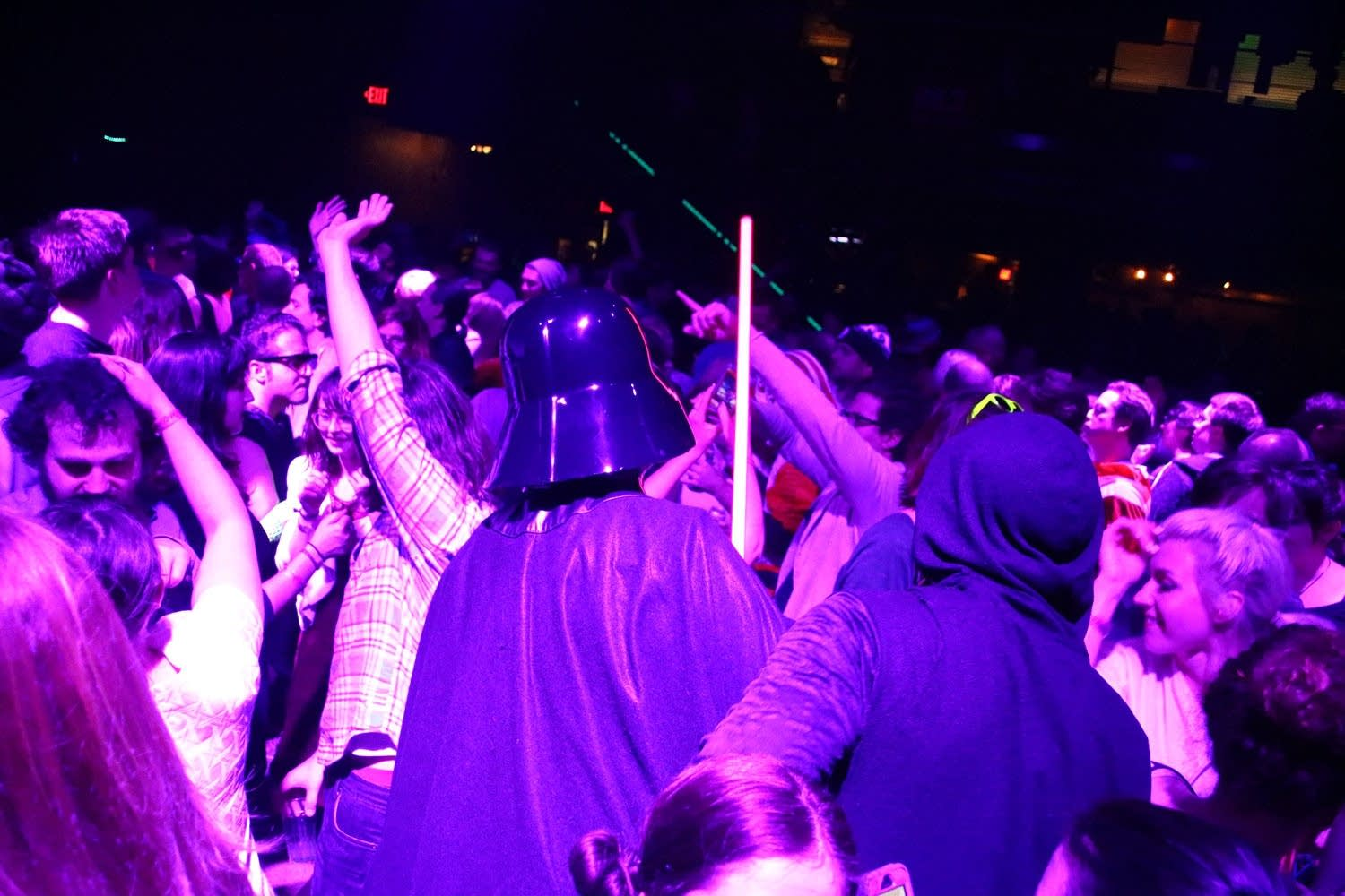 Darth and Emperor dance at First Avenue
