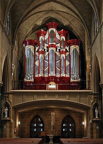 2006 Fritts organ at Cathedral of St. Joseph, Columbus, Ohio
