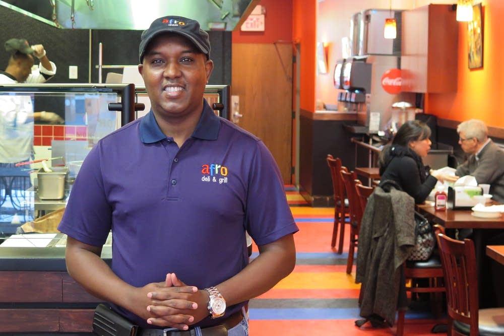 Entrepreneur Abdirahman Kahin