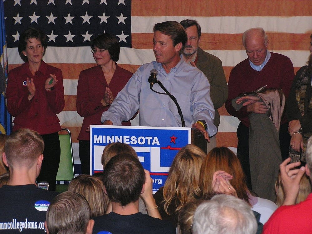 John Edwards at DFL rally