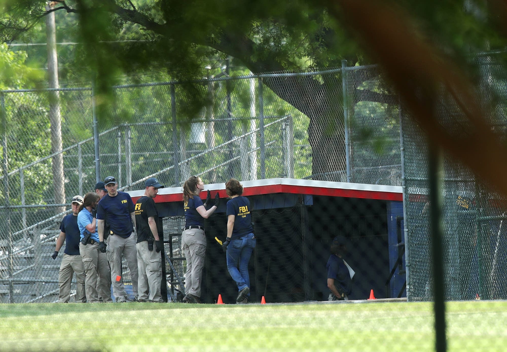 Congressional Baseball game has tender moments, day after shooter injures 5