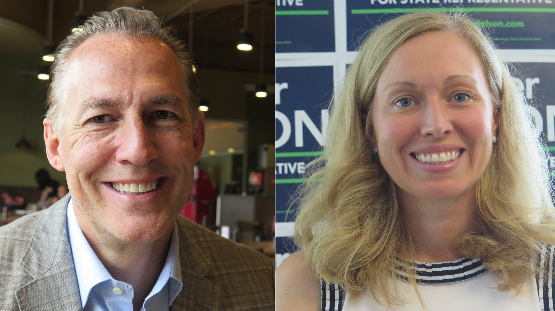 Dario Anselmo and Heather Edelson will face each other in the election.