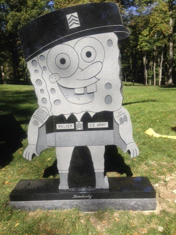 SpongeBob SquarePants gravestone