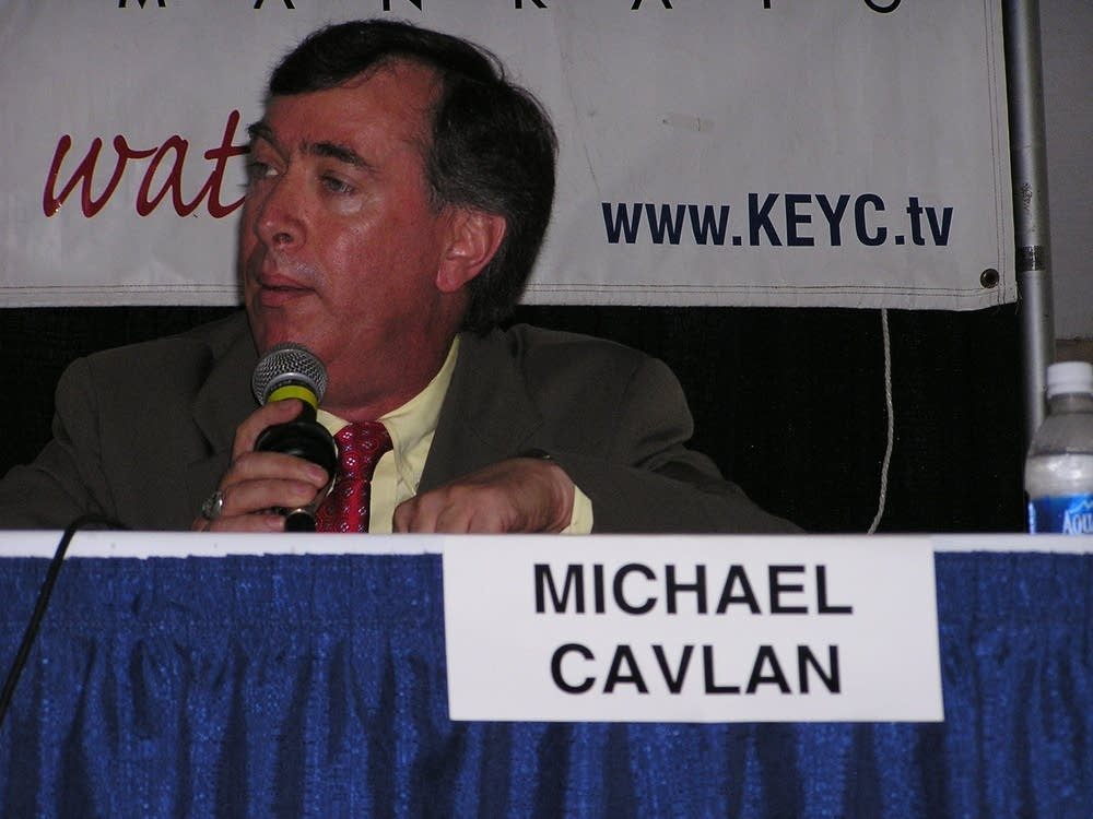 Green Party candidate Mike Cavlan