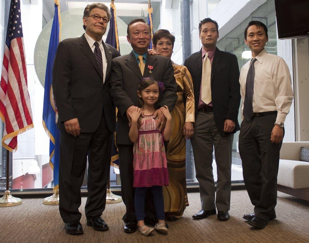 Dai Vinh's family