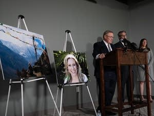 Attorneys representing the family of Justine Ruszczyk.