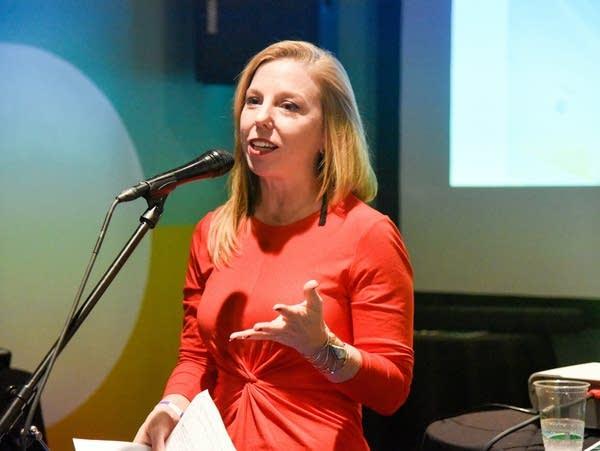 Executive Director Theresa Sweetland of Forecast Public Art
