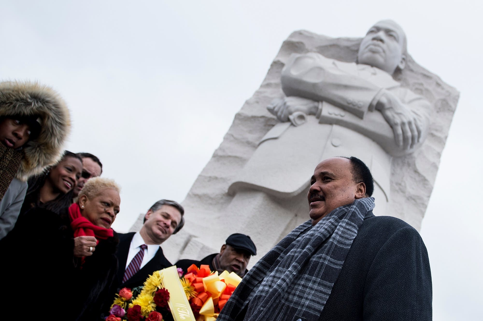 Mlk Day Marked By Trump Criticism Pledges To Fight Racism Mpr News