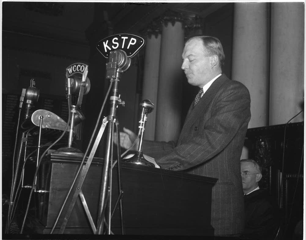 Former Gov. Harold Stassen
