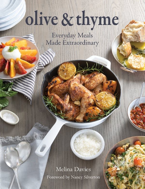 olive oil and thyme cookbook cover