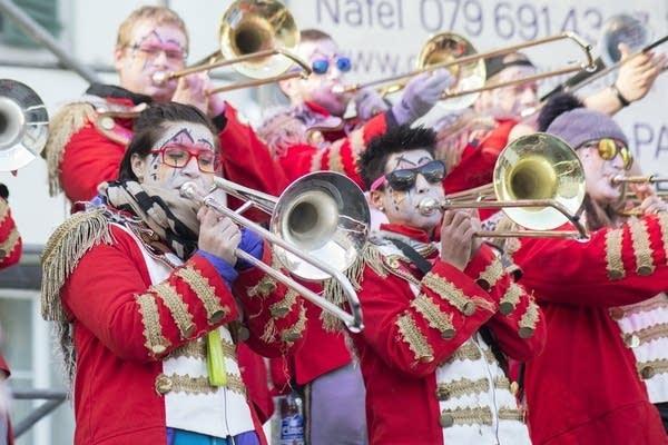 Trombones at Carnaval