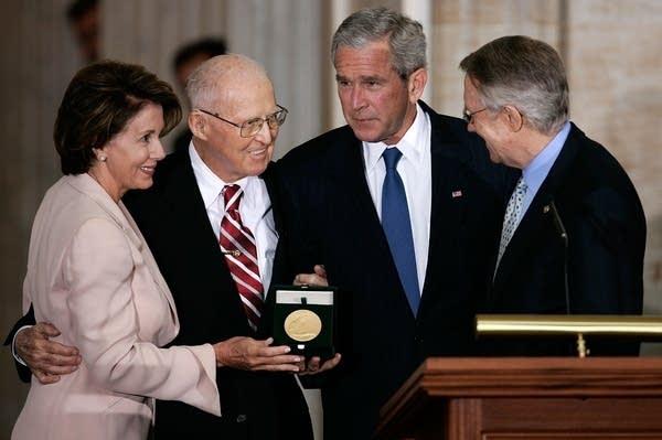 Borlaug gets Congressional Gold Medal