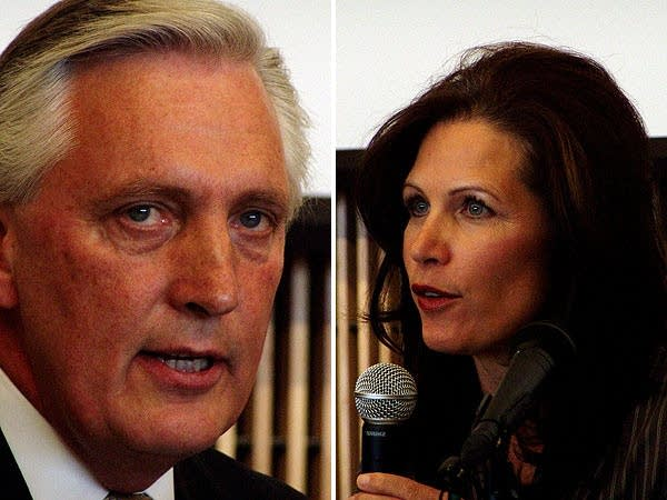El Tinklenberg and Michele Bachmann