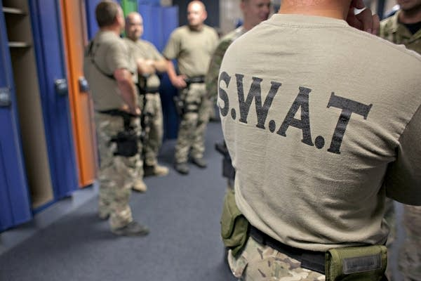 Monthly S.W.A.T. training