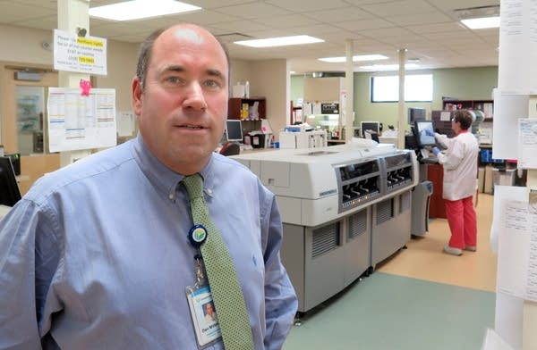 Dan Milbridge, Essentia Health Virginia COO