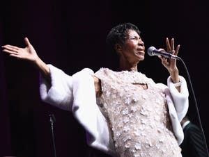 Aretha Franklin performing in recent years