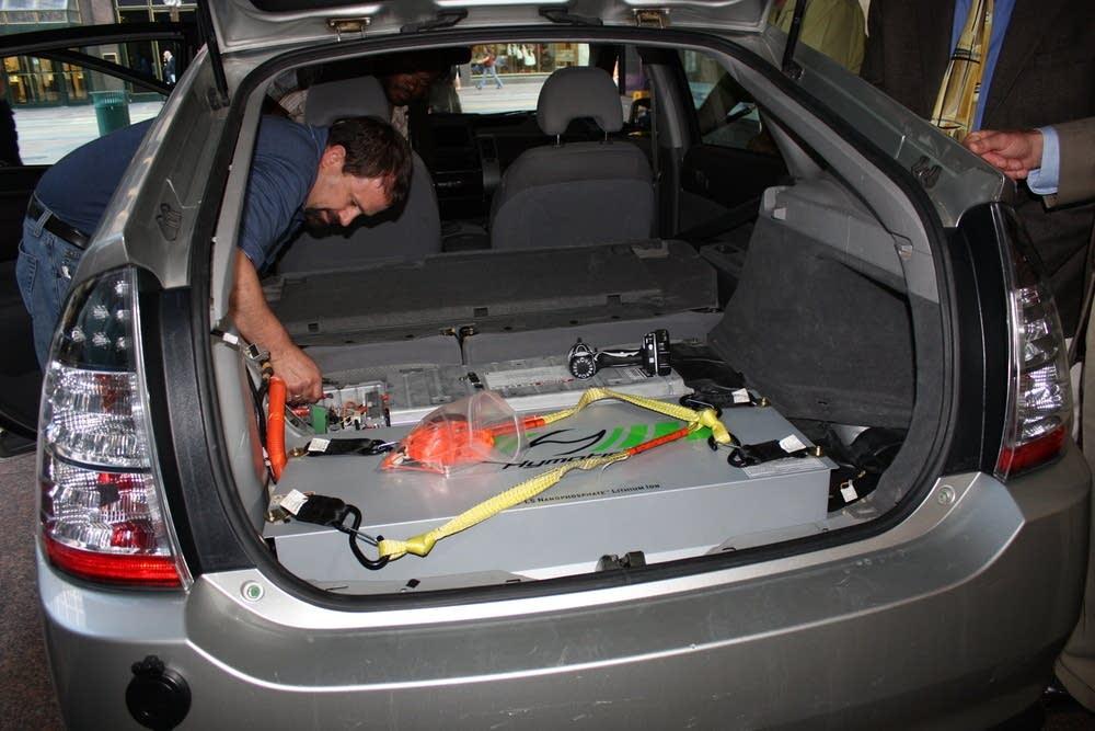 R.T. Rybak's hybrid car