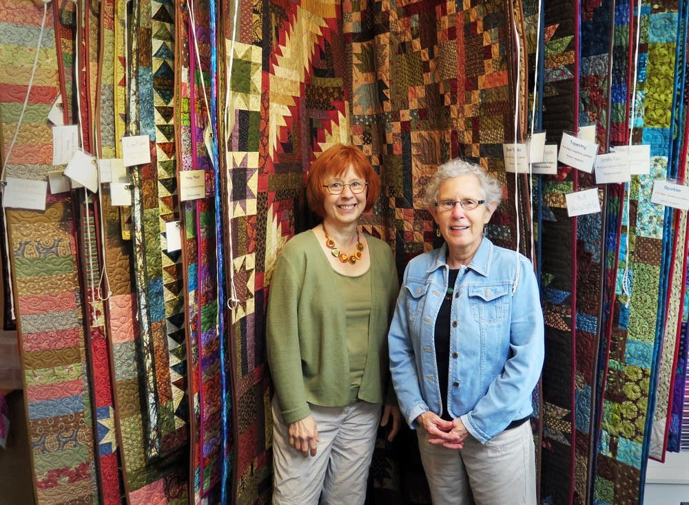 Nancy Raschka-Reeves, left, and Susan Dyer