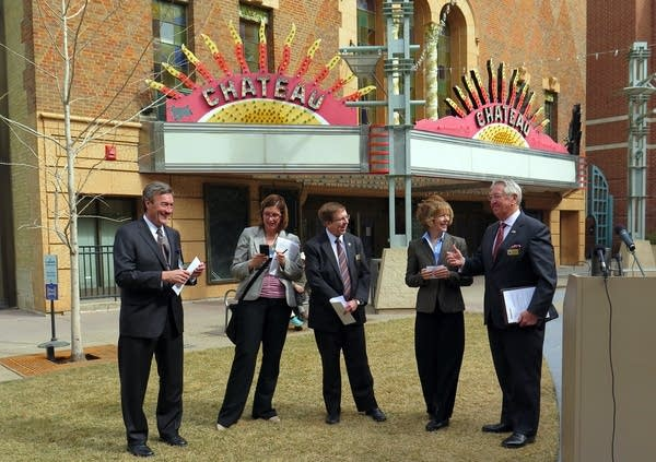Rochester will buy the Chateau Theatre.
