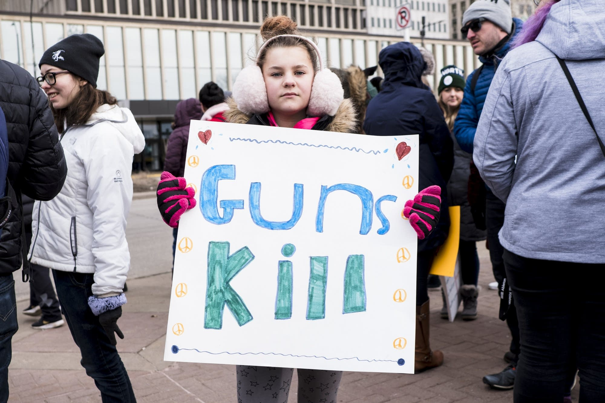 Eleven-year-old Tori King stands for a portrait.