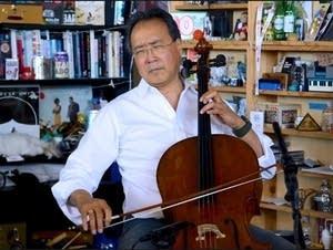 Yo-Yo Ma performs at NPR's Tiny Desk