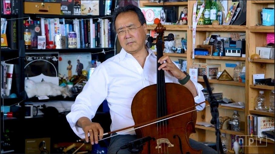 Watch Yo-Yo Ma revive Bach's Cello Suites at NPR's Tiny Desk