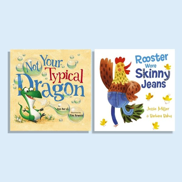 Julie's Library: Not Your Typical Dragon and Rooster Wore Skinny Jeans