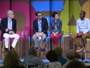 Panelists discuss what it means to be 'Rural by Choice.'