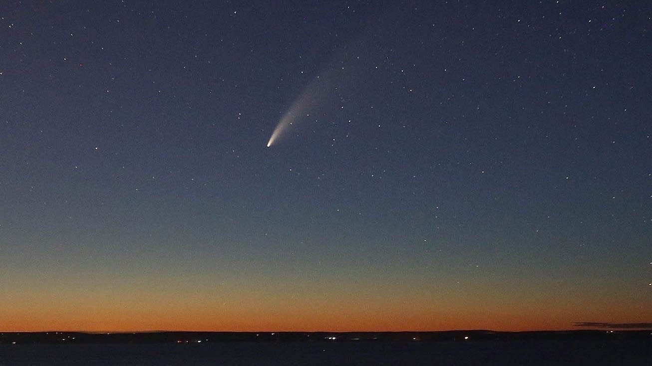 Blinded by the lights? Where to better see Comet Neowise - Minnesota Public Radio News