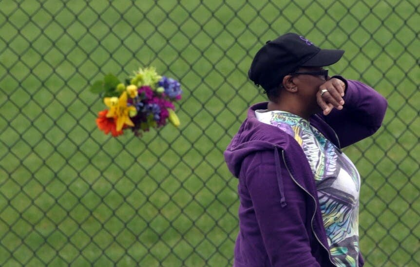 Mourning outside Paisley Park