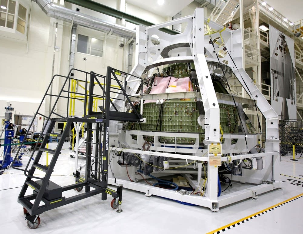 Orion Exploration Flight Test 1crew module