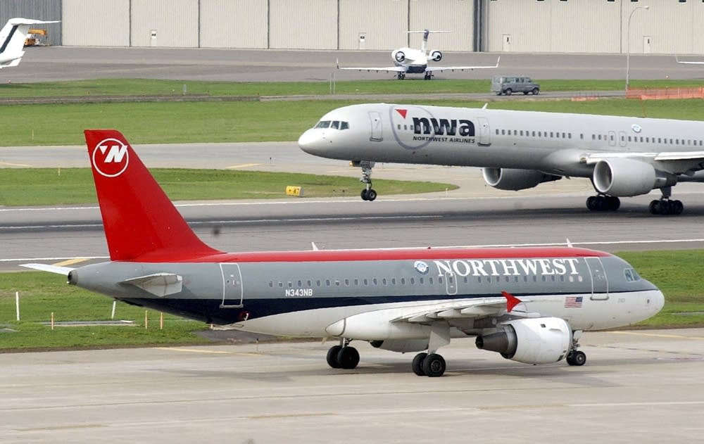 Northwest Airlines planes
