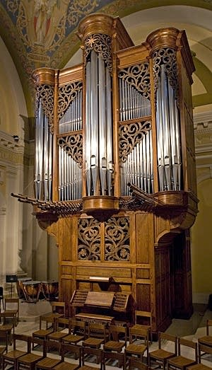 1986 Kney organ at Saint Thomas Aquinas Chapel, University of Saint Thomas, Saint Paul, Minnesota