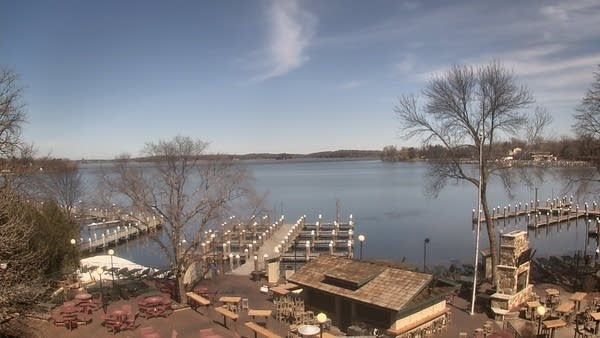 Excelsior Bay on Lake Minnetonka Tuesday