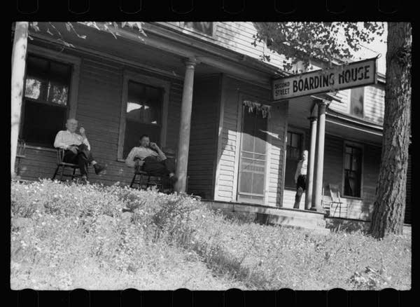 Second Street boardinghouse