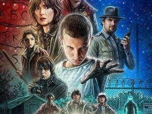 'Stranger Things' poster artwork