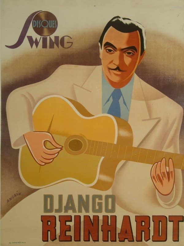 Django Reinhardt Poster (1941)