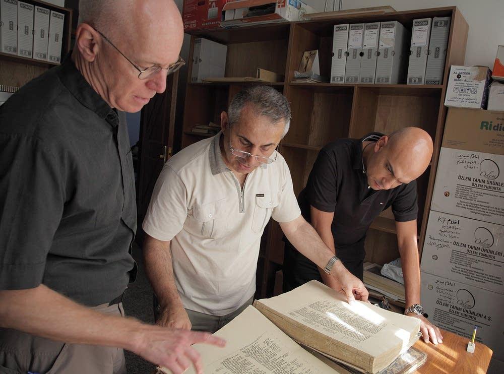Examining a Bible
