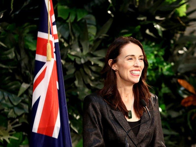 New Zealand's prime minister, Jacinda Ardern