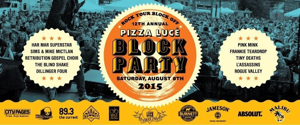 Pizza Luce Block Party 2015