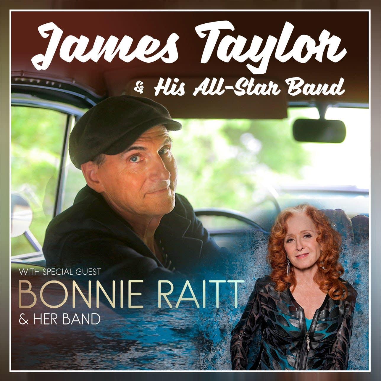 James Taylor bonnie Raitt poster
