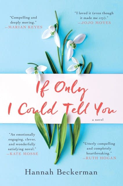 """A book cover of """"If Only I Could Tell You"""""""
